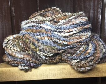Barnwood Hand Spun Textured Art Yarn