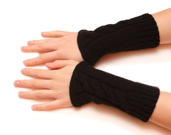 Fingerless gloves - Hand warmers, Handwarmers, Arm warmers, pure luxury yarn, armwarmers, wrist warmers, pair of wirst warmers, wristwarmers