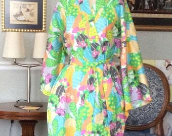 Cactus dreams robe