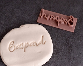 Custom Name cookie stamp (Personalized) - Name cookie stamp - Personalized cookie cutter - Birthday cookie cutter - Custom gift