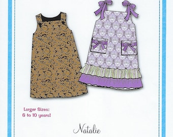Bonnie Blue Pattern #150 / NATALIE / Sizes 6 yr - 10 yr