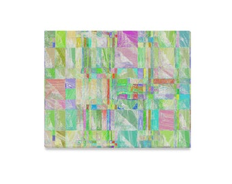 """Pastel Abstract Painting 