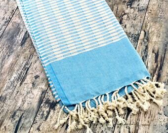 VENTA de apertura el 30% de turquesa turquesa baño toalla turquesa Peshtemal Color toalla turquesa turquesa moda turquesa el verano Baby primavera
