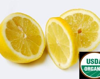 Lemon, Lime OR Lemongrass 100% PURE Organic Essential Oil (15ml)