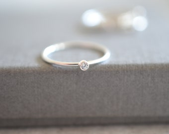 925 Sterling silver Stacking ring