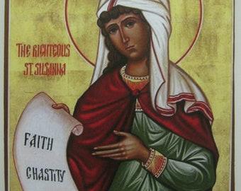 Righteous Susanna of Babylon