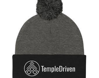 TempleDriven™ Pom Beanie