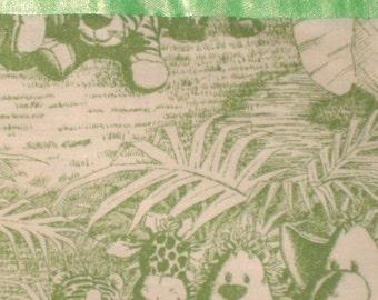 Cotton Green Jungle Pillowcase