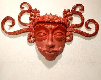 Theyyam Wall Mask