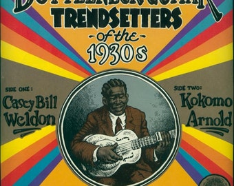 Robert R. CRUMB Cover Art BLUES Bottleneck GUITAR Trendsetters Of The 1930s SeAleD Reissue Vinyl Lp Record Album YaZoO L-1049 Robert Crumb