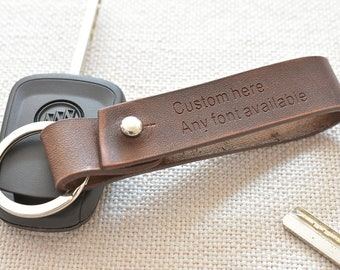 Leather keychain, personalized key chain, engraved key ring, key organizer, personalized womens, gift for men, personalized womens, 621