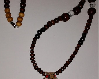 Jaguar warrior necklace