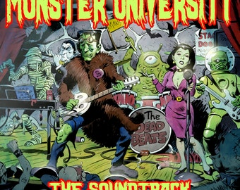 MAMMOTH MONSTER MUSIC! Digital Download Album by Prof. Von Hoffman