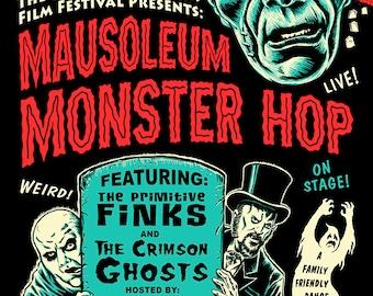 Mausoleum Monster Hop poster