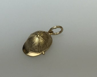 9ct Gold Baseball Cap Charm