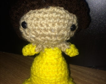 Princess Belle- Crocheted