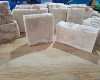 Cinnamon bun soap, cinnamon soap, bar soap scented soap