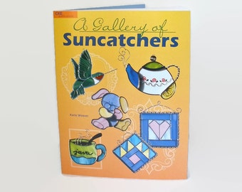 Stained Glass Pattern Book A Gallery Of Suncatchers by Karla Weaver Hobby