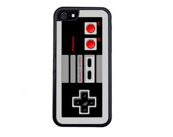 80's Retro Nintendo Inspired Controller Case Design For iPhone 5/5s, 5c, 6/6s, 6/6s Plus, 7, 7 Plus, 8 or 8 Plus.