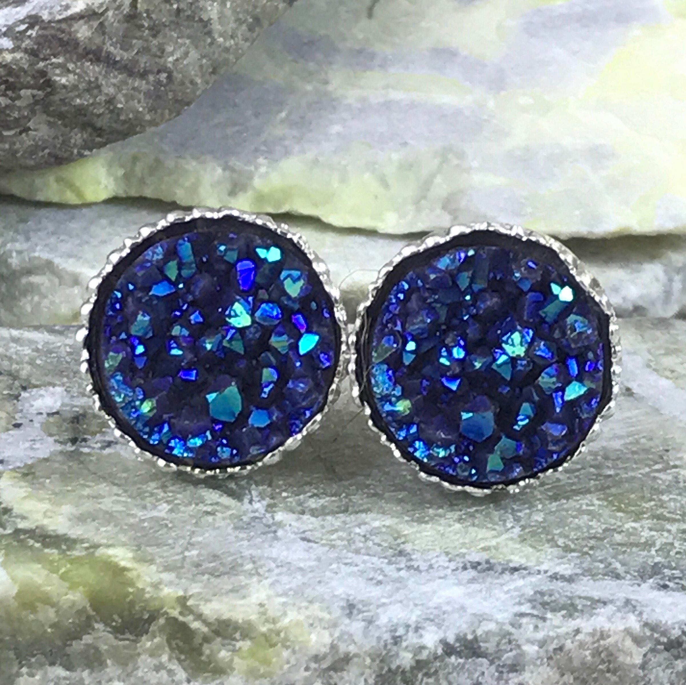 shop blue studs designs dove moonstone gold earrings collections opal sterling nina silver nguyen oxidized black stud yellow