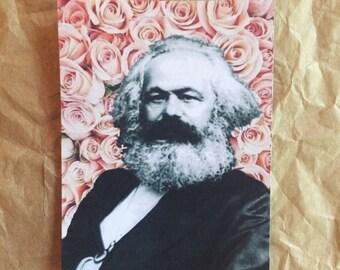 Marx Flower Sticker