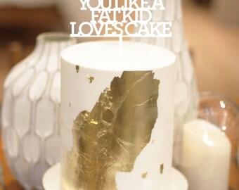 I love you like, Wedding Cake Topper,Lyrics, wedding cake topper,custom cake topper, monogram cake toppers, home decor