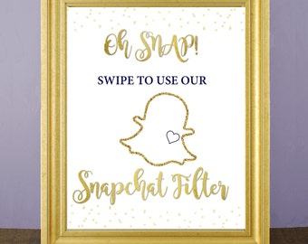 photograph about Printable Snapchat Filters named Snapchat Filter Indicator Wedding ceremony Party Indication Horizontal Prompt