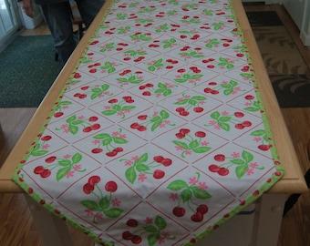 Cherries Table Runner