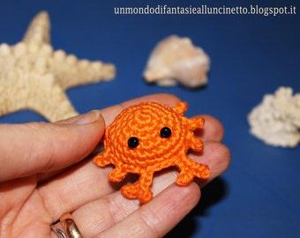 Sea crab crochet