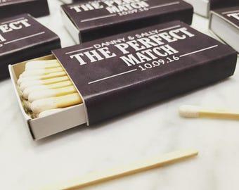 Stickers for matchboxes. Personalised wedding match box labels, wedding matches/ sticker labels for Sparkler Send Off, wedding match favor