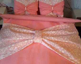 1/6 scale barbie doll bedding set