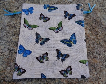 Butterfly Fabric Gift Bag