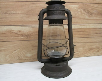 Antique Buhl  #275 Kerosene Barn Lantern/Tubular Hurricane Lantern