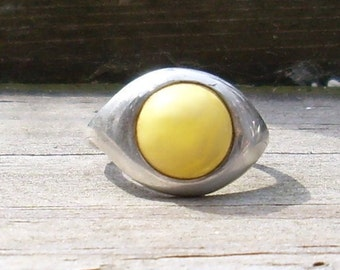 Sunshine Amber Ring