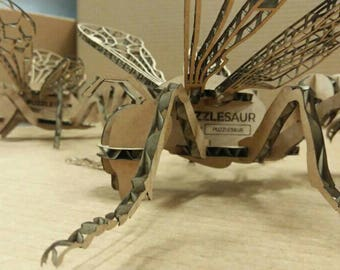 Bee Wasp 3D laser cut Puzzle