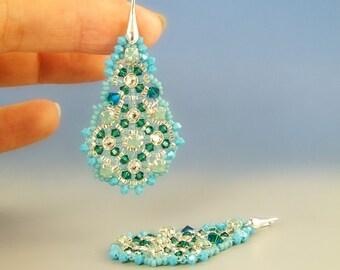 Talikha, earrings tutorial step by step