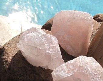 Rose Quarts Rocks.