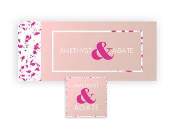 Pink Facebook Timeline Cover | Facebook Page Banner | Pink Branding Design | Minimal Branding Design | Premade Facebook Banner