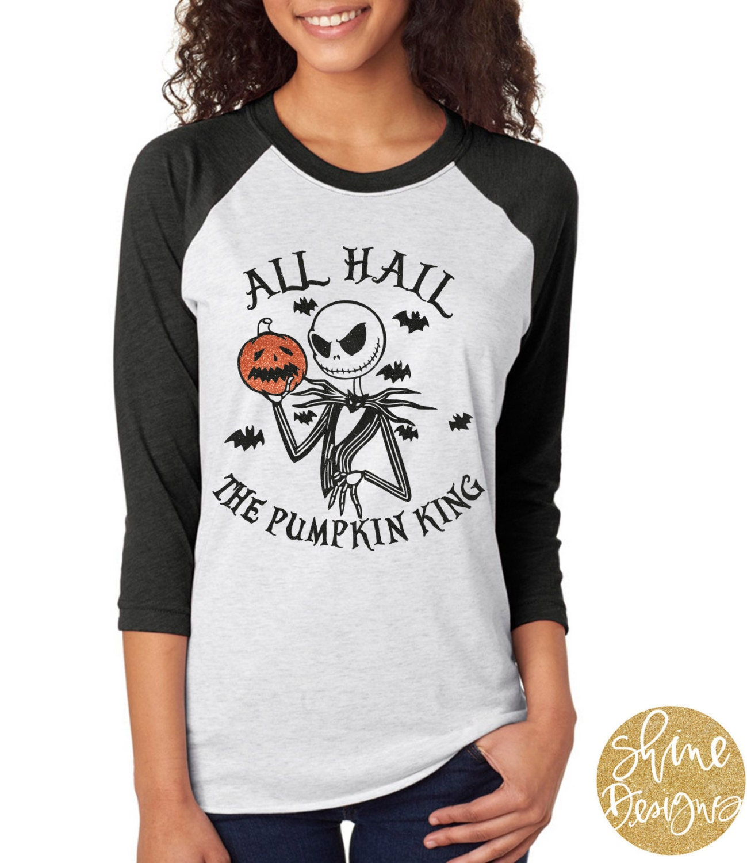Nightmare Before Christmas Shirt Jack Skellington All Hail