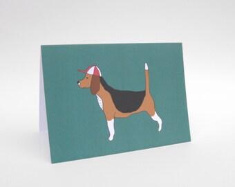 Beagle - Dog Card - Blank