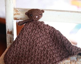 Little Bear Lovie blanket blankie stuffed animal toy baby gift
