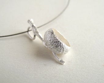 Acorn Pendant Sterling Silver Pendant Cast From Natural Acorn Necklace
