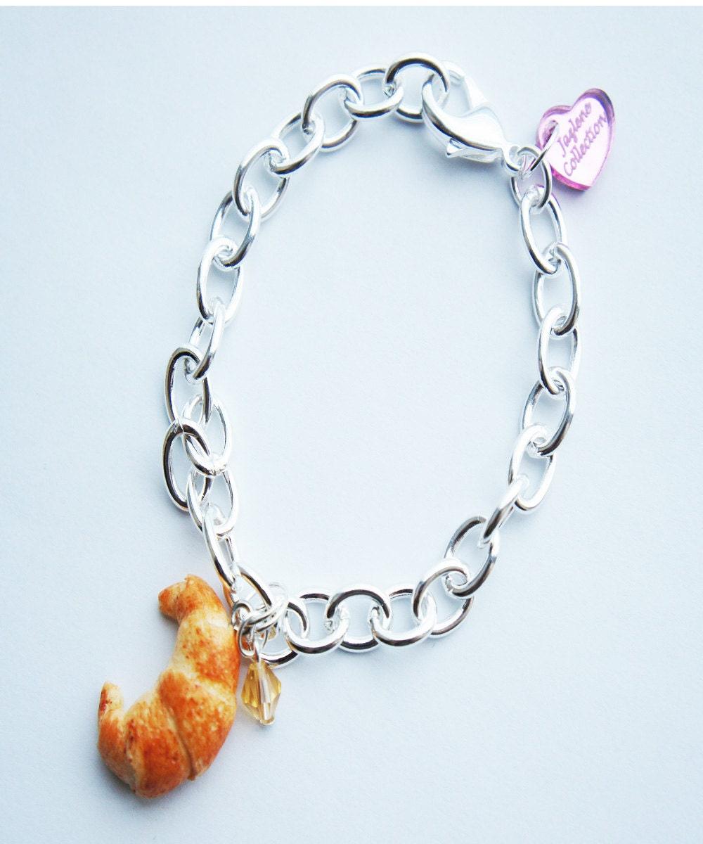 Design Your Own Custom Bangle Charm Bracelet Pick Your Charms: Custom Charm Bracelet Pick Your Own Food Charm Food Charm