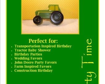 Tractor Glycerin Soap, Fancy Fruit Glycerin Soap, Childrens Soap, Tractor Baby Shower Favor, Construction Birthday, Farm Favors