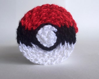 Pokésphere scarf, handmade crochet || Ready to Ship