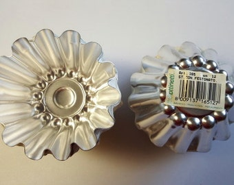 Aluminum Brioche Mold  - Made in Italy - 4-3/4 inches