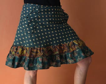 Wrap Skirt (one size fits most small - large) with pocket