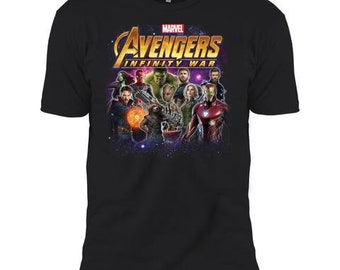 Marvel Heroes Of The Infinity War Adult & Kid T Shirt Boy Cotton T-Shirt