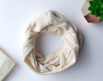 Baby scarf, infant scarf, toddler scarf, toddler scarf girl, baby scarves, toddler scarves, scarf, tan baby scarf, cream scarf, girl scarves