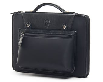 13 inch Laptop Bag Men Leather Laptop Bag Women Laptop briefcase Macbook Pro Case Macbook Air Case Macbook Sleeve Valentine's Day Best Gift
